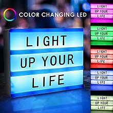 SHOPPERS STOP Cinema Light up Box, A4 Color