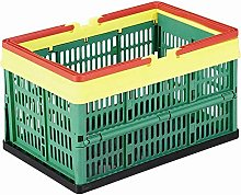 Shopping Basket 16 L with Handles, Folding