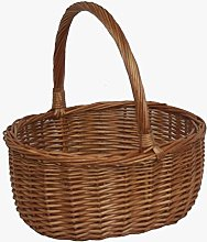 Shopping Basket Double Steamed Oval Shopper