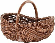 Shopping basket, ironing basket, shopper made of
