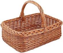 Shopping Basket Square Brown, 60 CM L x W 44 CM x