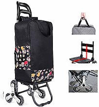 Shopping Cart with Wheels - Trolley Dolly for