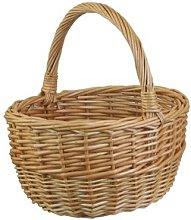 Shopping Wicker Basket Brambly Cottage