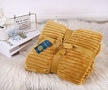 Shopylistic Chunky Rib Throw Striped Blankets Soft