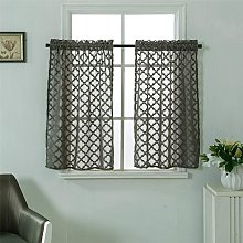Short Curtains Small Windows Short Country Style
