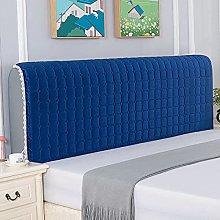Short Plush Bed Headboard Slipcover 360° All
