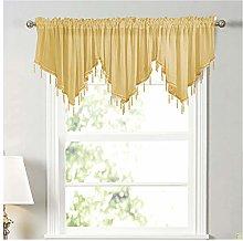 Short Sheer Curtains, Window Tier Curtain Tier