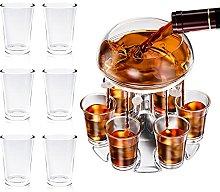 Shot Dispenser, Weinsamkeit 6 Shot Glass Dispenser