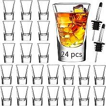 Shot Glass Set of 24 -1.2oz/35ml Clear Shot Glass