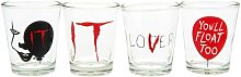 Shot Glass Set (Pack of 4) (One Size)
