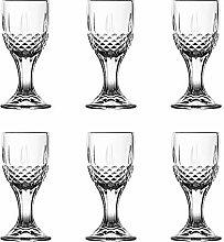 Shot Glasses, HOMEYUT 0.5 oz Soju Shot Glasses Set