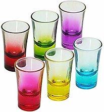 Shot Glasses Set, Cute Shot Glasses, Colored