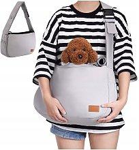 Shoulder bag with padded shoulder strap adjustable
