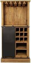 Shoup Bar with Wine Storage Williston Forge