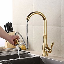 Shower & Bath Taps Tub Taps Gold Chrome Pull Out