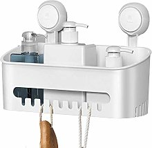 Shower Cupboard Suction Cup Basket Rack Powerful