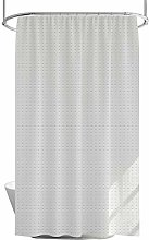 Shower Curtain 100% Polyester Fabric with 12 Hooks