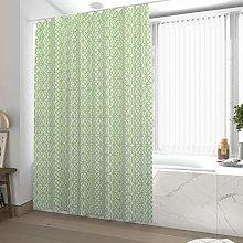Shower Curtain 180 x 200 cm Green