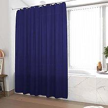 Shower Curtain 180 x 200 cm Navy Blue