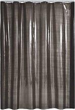 Shower Curtain Brillant Anthracite Vinyl - Grey -