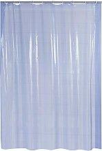 Shower Curtain Brillant Blue Vinyl - Ridder