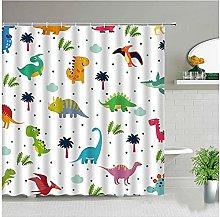 Shower Curtain Dinosaur Shower Curtains 3d Print