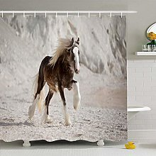 Shower Curtain For Bathroom 60x72 Blue Vanner