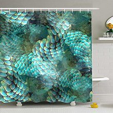 Shower Curtain For Bathroom 60x72 Watercolor