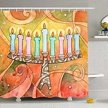 Shower Curtain For Bathroom 72x78 Fashion Colorful