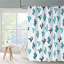Shower Curtain for Bathroom Waterproof Fabric