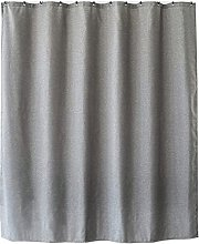 Shower Curtain for Bathroom with Hooks Linen Like
