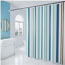 Shower Curtain Polyester Fabric Bathroom Curtains