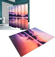 Shower Curtain, Polyester Pongee Practical