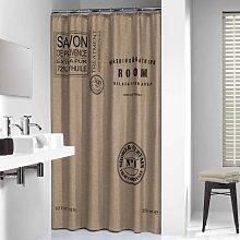Shower Curtain Provence 180 cm Ecru 233321366 -