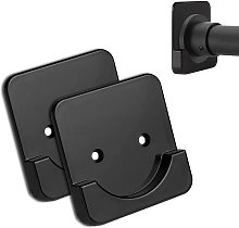 Shower curtain rod mounting bracket, suitable for