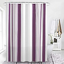 Shower Curtain Shower tuning vertical tent purple