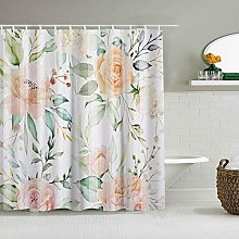 Shower Curtain,Thanksgiving,Christmas Watercolor