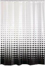 Shower Curtain Vinyl Black - Ridder