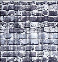 Shower Curtain Wall 180x200 cm - Grey - Ridder