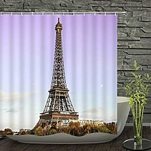 Shower curtainParis Tower Paris Landscape Shower