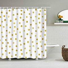 Shower curtainPlant Stripes Shower Curtain