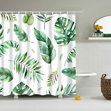 Shower Curtains No Liner, Waterproof Polyester