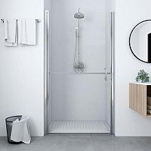 Shower Door Tempered Glass 91x195 cm