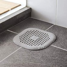 Shower Drain Covers, Silicone Tube Drainer Hair Catcher Stopper with Suction Cup for Kitchen Bathroom, Tub Sink Rubber Strainer Plug Filter (Gray) - Langray