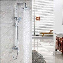 Shower Plumbing Hardware Copper Shower Set Shower