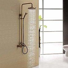 Shower Shower Tap Faucet Set Copper Household
