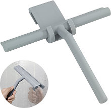 Shower Squeegee Glass Wiper Squeegee with Silicone