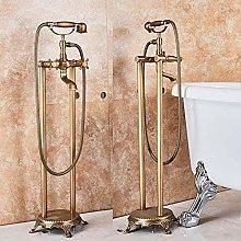 Shower System Antique Brass Bathtub Shower Faucet