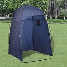 Shower/WC/Changing Tent Blue VD32252 - Hommoo