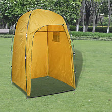 Shower WC Changing Tent Yellow
